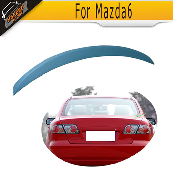 PU Auto Rear Bumper Spoiler Lip Car Trunk Wing  for Mazda 6 2009 UP