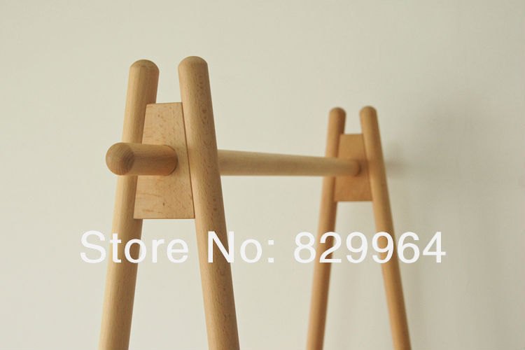 madera fabricacin de madera slida durable perchero muebles de dormitorio de madera ropa armario roble en percheros de muebles en