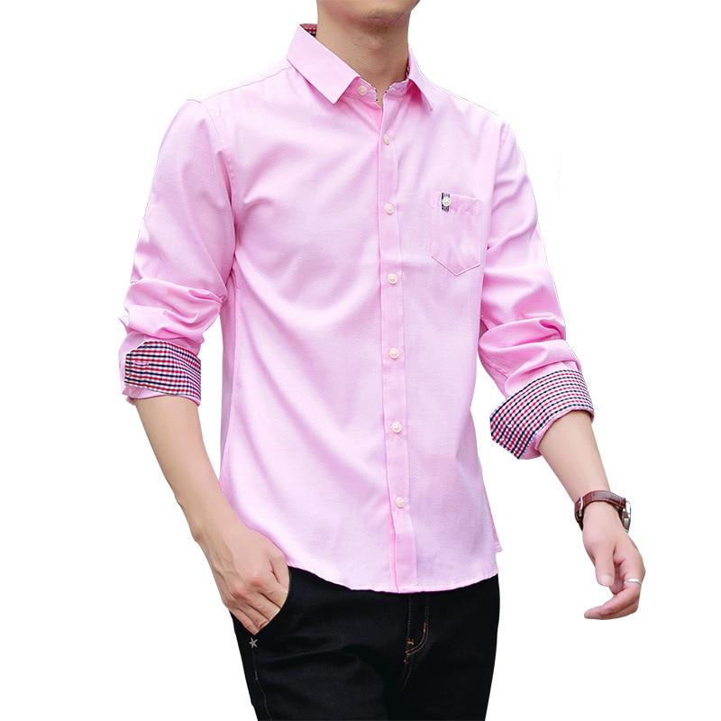 Automne Longues À Décontractée Mode Nouveaux Chemise Jeunes Manches De Color Sauvage Color D'affaires Hommes Mince Photo photo xtrqF4twWX