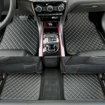 ZHAOYANHUA, alfombrilla Universal para todos los modelos de coche para BMW, AUDI, mercedes-benz, Honda BYD, peugeot, volkswagen, piezas de coche con estilo