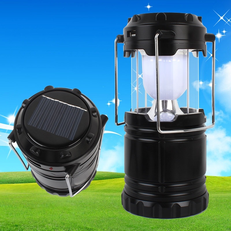 Outdoor Multifunction LED Solar Hand Light Super Bright Comping Tent Fishing Expedition Barbecue emergency Lamp Portable Lights