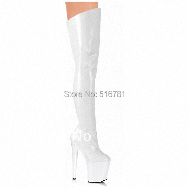 Aliexpress.com : Buy 8 inch thigh high boots 20cm high heeled ...