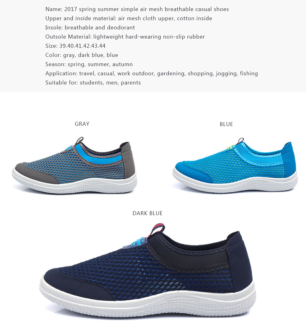 Chaussure Homme Us 39 99 Summer Shoes Breathe Air Mesh Men Shoes Loafers Chaussure Homme Cloth Patchwork Casual Shoes Huarache Air Zapatillas Hombre 95 In Men S