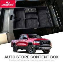 цена на Car central armrest box For for Dodge RAM 1500 2500 3500 2009-2018 Coin storage  Center Console Organizer Tray