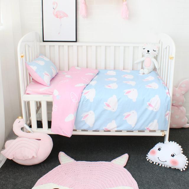 Cotton Crib Bedding Set