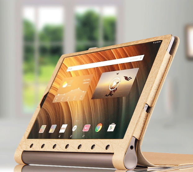 все цены на  Leather Case For Lenovo YOGA Tab3 Plus YT-X703F Case Luxury 10.1