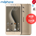 "Ulefone mtk6737t gemini 4g smartphone quad core 5.5 ""1920*1080 p android 6.0 3 gb + 32 gb dual cámaras de nuevo 3250 mah teléfono móvil"