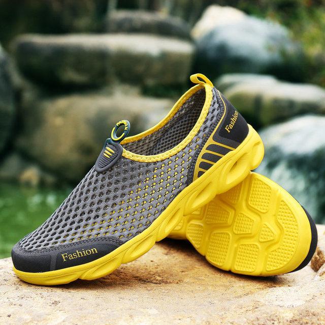 c58b2567c8c PINSV Aqua zapatos hombres Aqua zapatos mujer verano playa zapatos agua zapatos  para hombres deportes zapatillas