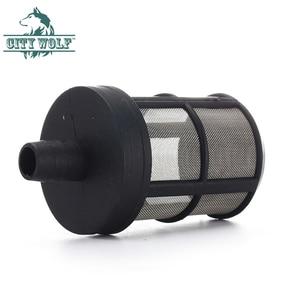 Image 4 - Araba yıkama giriş hortumu su filtresi paslanmaz çelik tel örgü bahçe aracı yüksek basınçlı yıkayıcı aksesuarı şehir kurt