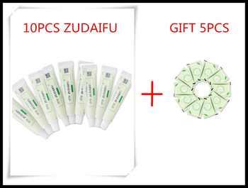 10PCS ZUDAIFU +GIFT Natural Skin Creams Eczema Ointments Psoriasis Eczema Allergic Neurodermatitis Ointmen ( Without Retail Box) - DISCOUNT ITEM  0% OFF All Category