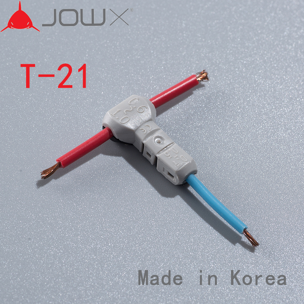 T 21 100PCS T Type Connect Joint 18AWG 0 75mm Tapping Wire 23 20AWG 0 3