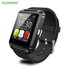 FLOVEME Original Männer Sport Bluetooth Smart Uhr Sync Notifier Passometer Smartwatch Tragbare Geräte Für IOS Samsung Android
