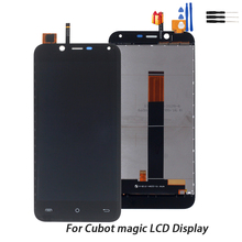 For Cubot Magic LCD Display Touch Screen Digitizer Replacement Phone Parts For Cubot Magic Display LCD Display Screen Free Tools цена