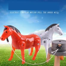 Get more info on the New Electronic Toys Novelty Toys Small Horse-drawn Cart Children Toy Electric Walking Horse Horse-drawn Car Turning Toys
