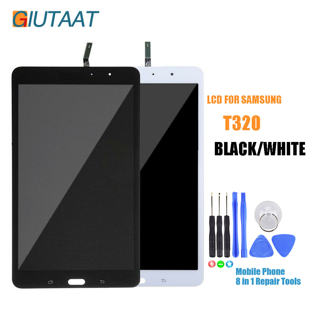 Original Black/White For Samsung Galaxy Tab Pro 8.4 SM-T320 SM T320 WiFi LCD Display Touch Screen Digitizer AssemblyOriginal Black/White For Samsung Galaxy Tab Pro 8.4 SM-T320 SM T320 WiFi LCD Display Touch Screen Digitizer Assembly
