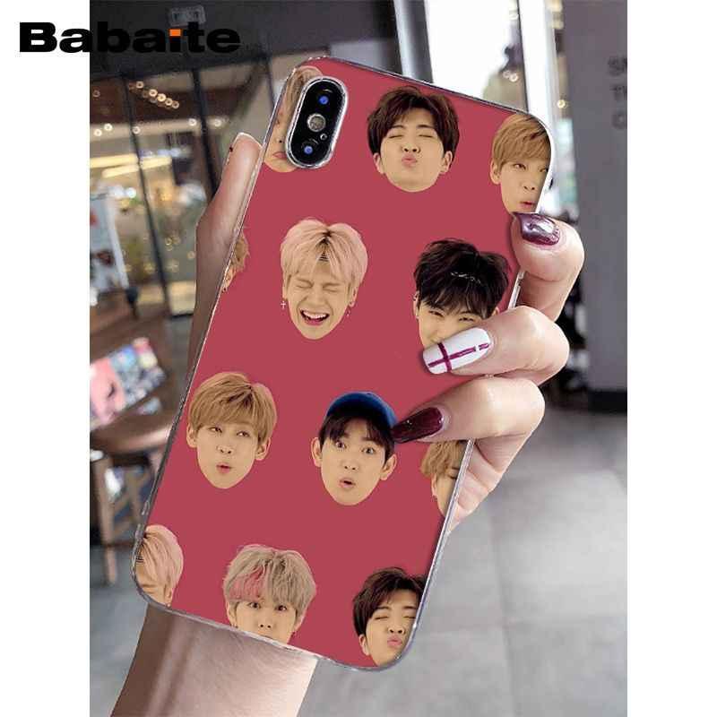 Babaite GOT7 บัตร Jinyoung Jackson Mark นักร้องรูปวาด TPU โทรศัพท์กรณีสำหรับ iPhone 5 5S 5C SE 6 6 S 7 7plus 8 8 PLUS