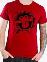 ANIMAL DRUMMER THE MUPPETS KIDS T SHIRT New Funny Brand Clothing Short Sleeves Cotton T Shirt