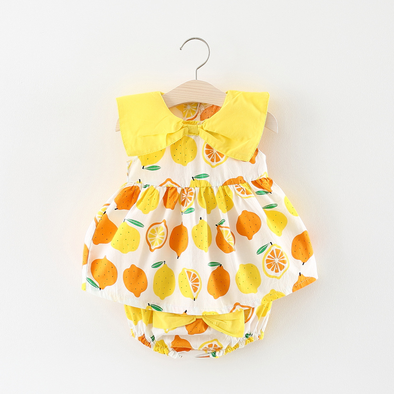 Melario Baby Dress 2018 Summer Toddler Infant Kids Baby Girl Dress Girls Summer Dresses Briefs Outfits Cute Children Clothing