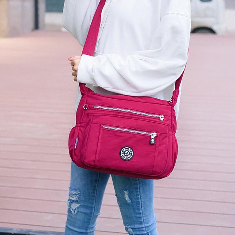 Waterproof Nylon High Quality Women Bags For Women Messenger Bags Female Shoulder Handbag For Women Fashion Sac Femme