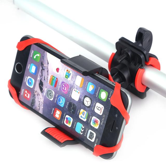 Elastic Bike Handlebar Phone Holder