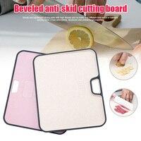 まな板プラスチック小麦わら耐カビと非スリップまな板ジュース溝キッチンストア