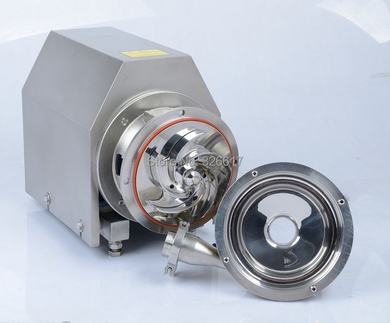 NT 3T/16m, lift/head 16m 0.75Kw ss304 food grade milk centrifugal pump,brewery beer pump 220v 50/60Hz monophase 1phase