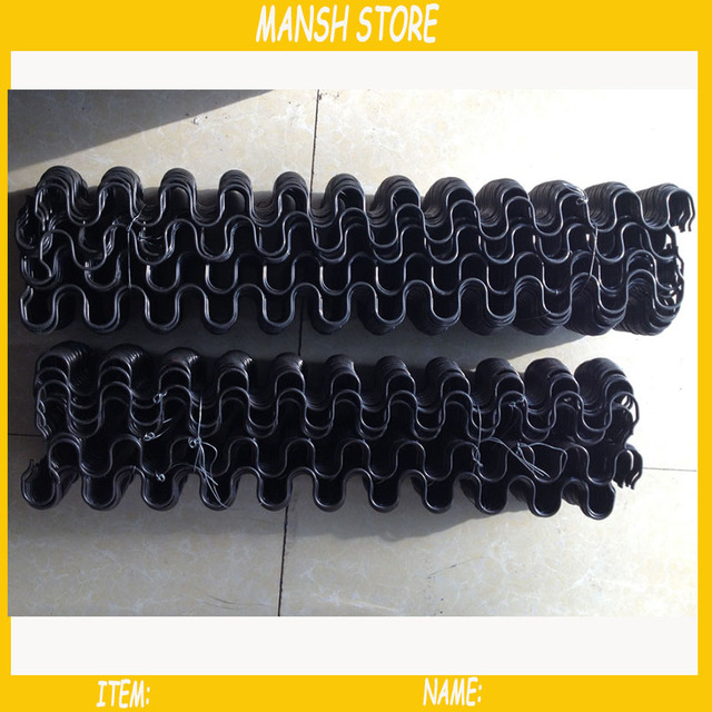 5pcs/lot Diameter 3.8mm Sofa Springs S Shape Bed Springs Furniture  Accessory Free Shipping