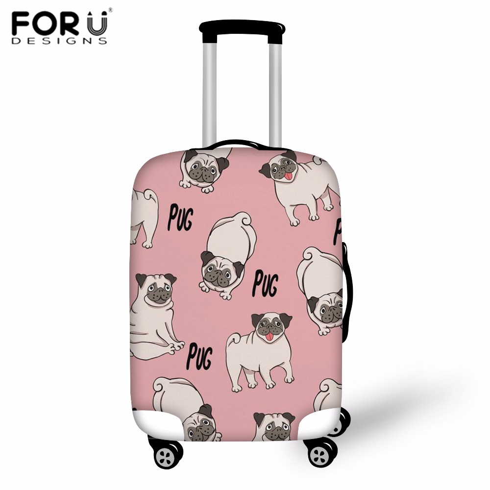 LAVOVO Cats And Dogs Luggage Cover Suitcase Protector Carry On Covers
