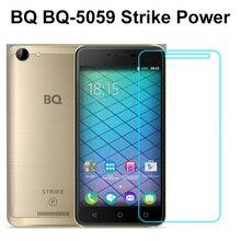 """Для BQ BQ-5059 Strike power закаленное стекло не полное покрытие чехол Защита экрана 5,"""" Защитное стекло для телефона пленка для BQ 5059"""