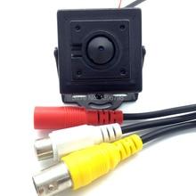 New Arrival Mini HD 3.7mm Pinhole 700TVL 1/3 CMOS Surveillance Color CCTV Camera Audio