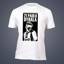 2f8b1a1bd SexeMara tide brand short sleeve T-shirt Paulo Dybala Argentina jersey Tees  men s top