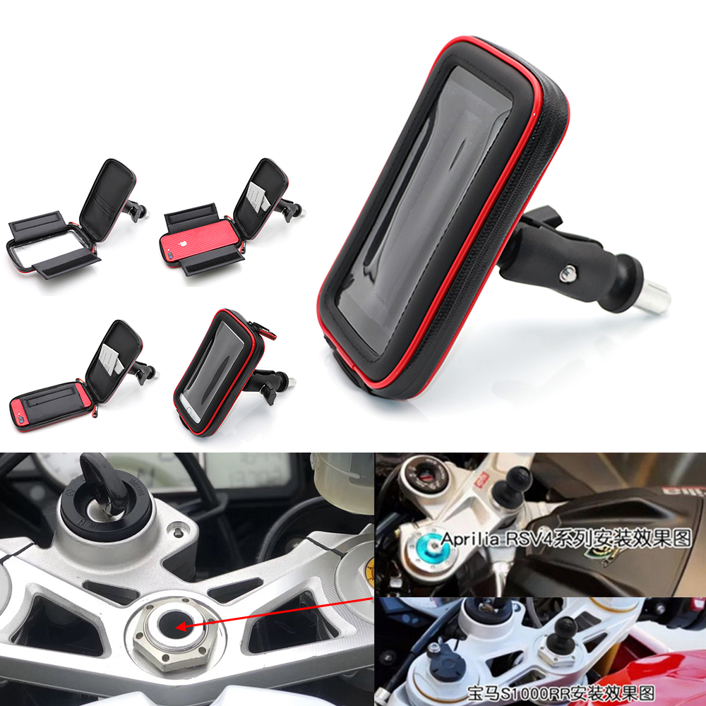 Navigation Phone Holder For HONDA F5 CBR650F <font><b>VFR1200</b></font> BMW S1000RR HP4 2010 14 15 Motorcycle Frame Bracket Support Stand Mount image