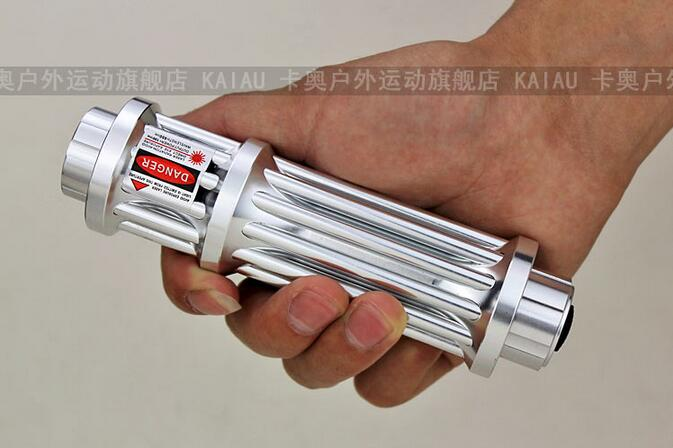 Military Red Laser Pointer 1000000m 532nm High Power Laser Flashlight Burn Match candle lit cigarette Wicked+5 caps