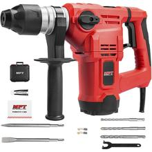 MPT 1-1/2 Inch SDS-plus 12 Amp Heavy Duty Rotary Hammer Drill,3 Functions Vibration Control and Adjustabl Soft Grip Handle,Inclu rotary hammer kraton rh 1050 38s