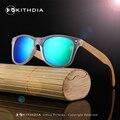 KITHDIA de Bambú De Alta Calidad de La Vendimia gafas de Sol de Moda Gafas de Sol Polarizadas de Los Hombres gafas de Sol Cuadradas Gafas de sol De Madera