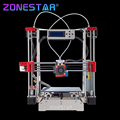 Full metal kit diy impresora reprap prusa i3 3d bowden extrusora Nivelación automática de Filamentos de Run-out Detectar Regalo Tarjeta SD Herramienta Cama Cinta