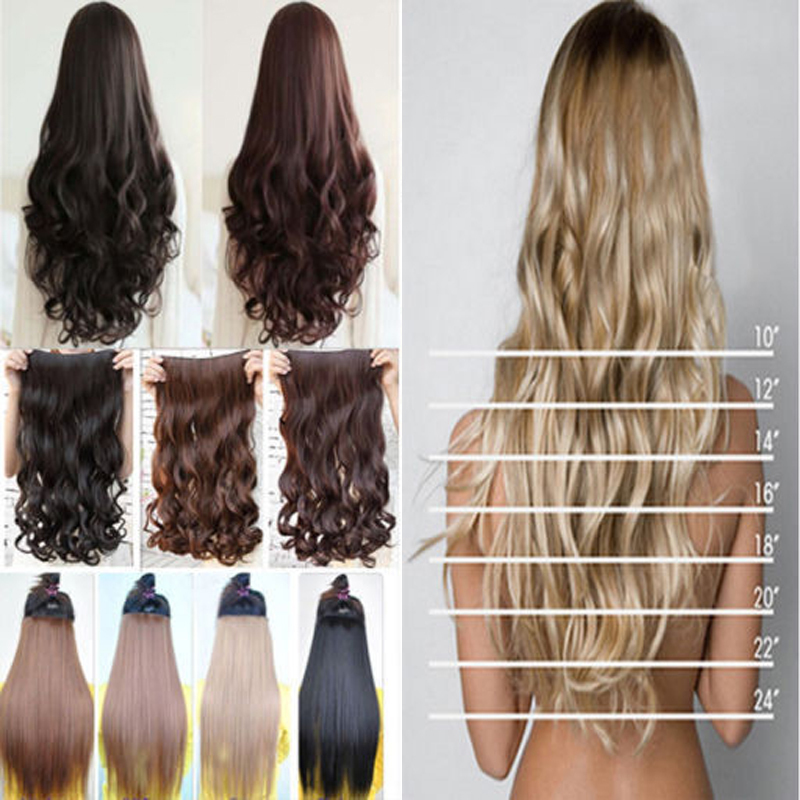 17 43cm curly wavy one piece 5 clips in hair extensions brown 17 43cm curly wavy one piece 5 clips in hair extensions brown black blonde hair extension cosplay on aliexpress alibaba group pmusecretfo Images