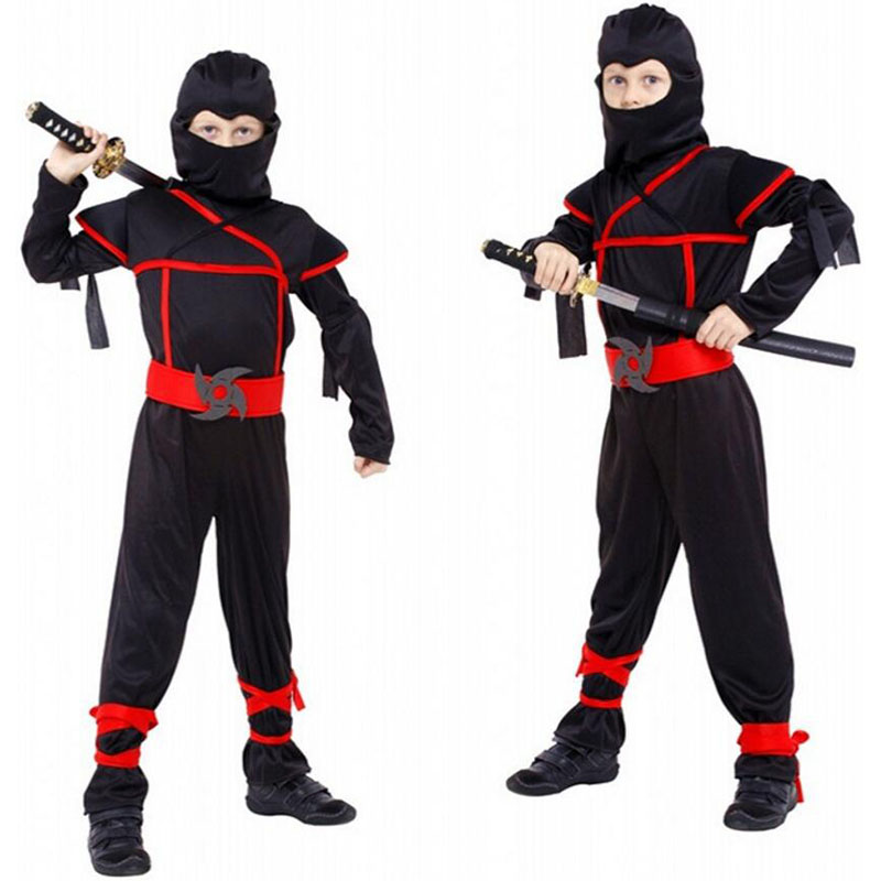 Halloween Costumes For Kids Boys 10 And Up.Us 18 31 16 Off Naruto Cosplay Costume For Boy Halloween Costume For Kids Role Play Cosplay Costume Boy Japanese Ninja Dress 4 To 10 Years Old In