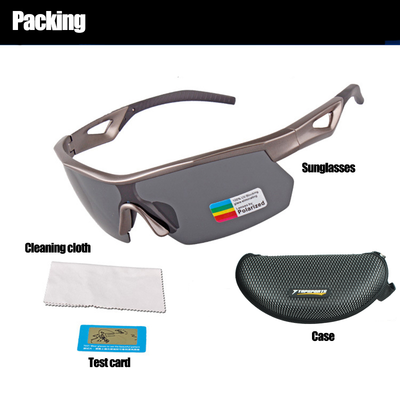 e02ed52326 TOPSPORT Professional outdoor sport Sunglasses cycling golf men bike  bicycle polarized UV400 mirror Glasses PC frame Eyewear -in Cycling Eyewear  from Sports ...