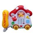 Nueva Mushroom Bebé Teléfono Musical Aprendizaje Temprano Kids Niños juguetes Educativos Teléfono de la Música del Desarrollo Juguetes