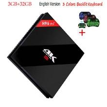 2G 3G/32G 16 GB H96 Pro Plus + Amlogic S912 H96 Pro Plus Android 7.1 TV Box Octa-core 2,4G/5,8G WiFi 4 Karat H96 Pro Media Player