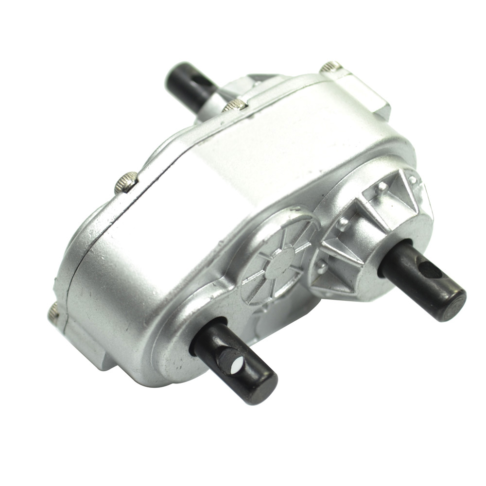 Högkvalitativ RC Transfer Case 1: 1 Silver 2 Trail Finder Two Option BEARING