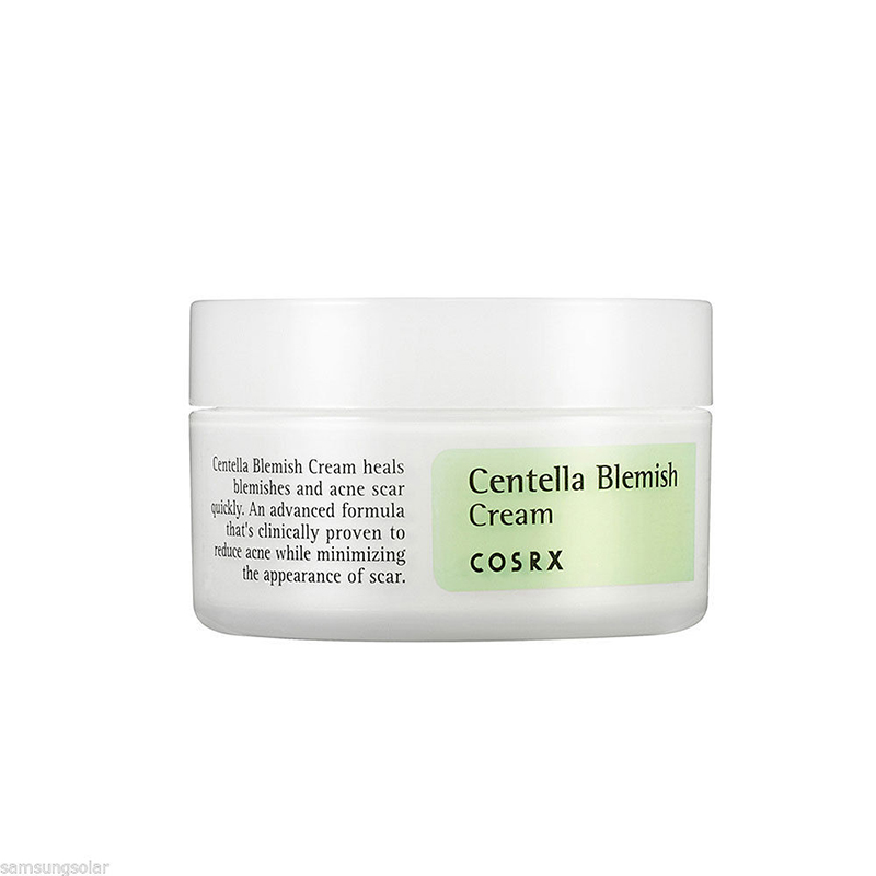 Cosrx Centella Blemish Cream 30ml Acne Scar Remove SKin Care Acne Treatment Shrink Pores Moisturizing Face Cream Korea Cosmetic cosrx clear fit master patch 18 patches 1sheet ultra thin hydrocolloid patch acne pimple spot scar care acne treatment
