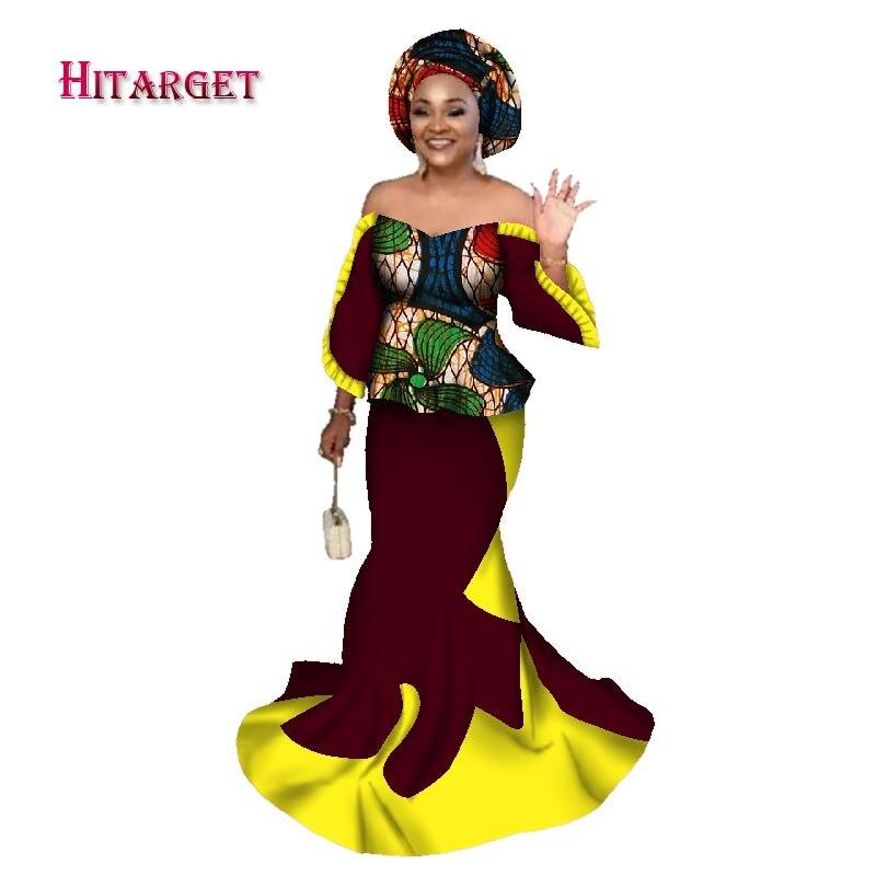 Long 12 15 Ensemble Femmes Bazin 2 16 Impression 10 Vêtements 3 Africain 5 Sirène 14 Crop 11 17 Headtie Pièce 1 Kanga Avec Top Wy2491 9 Africaines 20 2018 Riche Jupe 19 18 4 ZqFf8F