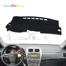 CloudFireGlory Interior Dashmat Dashboard Cover Mat Sun Visor Cover Pad LHD  For Toyota Corolla E140  4bd343a966a