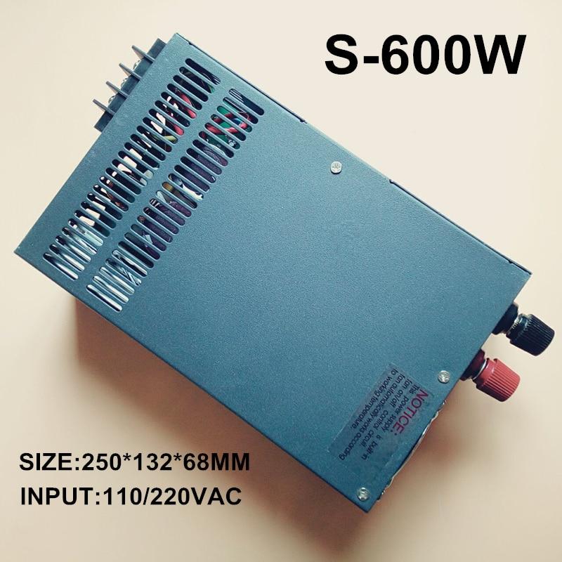 switching power supply 600w 36V 110 or 220VAC single output input 600W 16A for cnc led light (S-600W-36V) led single phase output switching power supply s 600 600w ac input output voltage 12v 15v 24v 27v 48v transformer