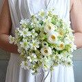 Оригинальный дизайн Сельский ветер с цветами в руках Творческий искусственный Свадебные цветы Свадебные Букеты