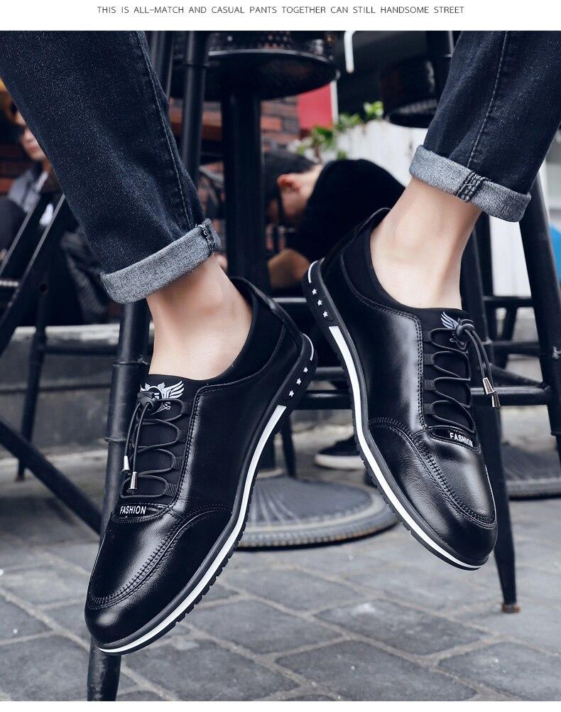 HTB14RM QzDpK1RjSZFrq6y78VXaQ Spring autumn Men Shoes Breathable Mesh Mens Shoes Casual Fashion Low Lace-up Canvas Shoes Flats Zapatillas Hombre Plus Size