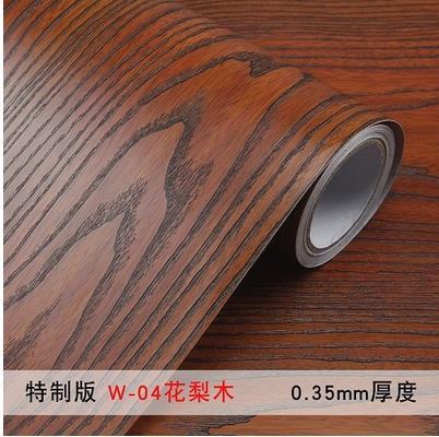 Купить с кэшбэком Waterproof PVC self - adhesive wallpaper 3d simulation wood wallpaper  counter - wood furniture renovation stickers-170