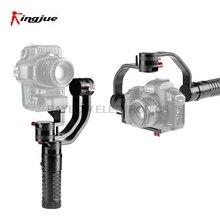 Kingjue VS-3SD cheap three axis stabilized camera gimbal 3 axis axes for Nikon Canon Sony camcorder DSLR Mirrorless cameras